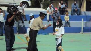 CENTRO REGIONAL DE ADIESTRAMIENTO CANINO ECUADOR POLICIA NACIONAL