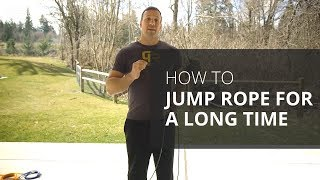 How to Jump Rope for a Long Time with Crossrope