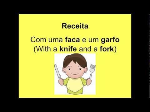 European Portuguese - Lesson 10 - Food and Recipe