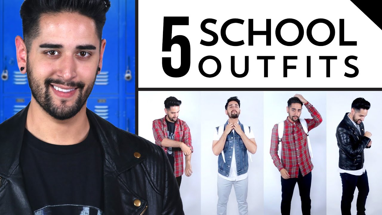 Top 5 Back to School Outfits for Guys ∞ The Guyde