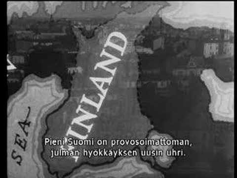 Talvisota- The Winter War ([Rare video] Friends of Finland)