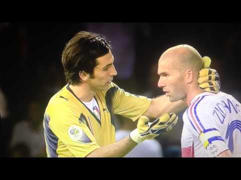 Zidane Headbutt 2006 World Cup