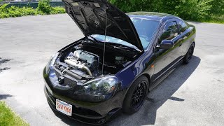 wiretucked rsx review walkaround 8 years of modifications