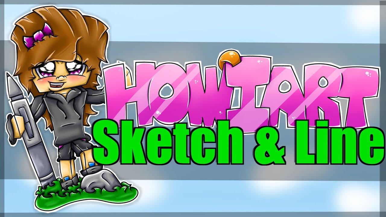 How I Sketch & Line in Manga Studio 5 [Tutorial]