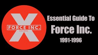[Techno, Acid] Essential Guide To Force Inc (1991-1996)