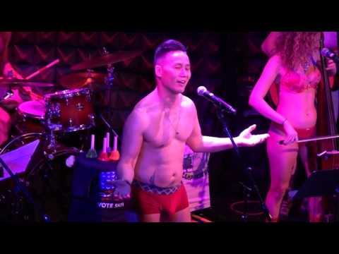 The Skivvies and BD Wong  Hard Candy Christmas