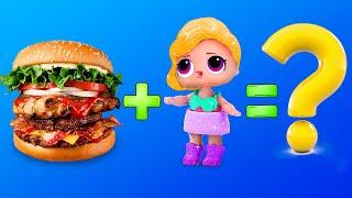 10 Barbie and LOL Surprise DIYs