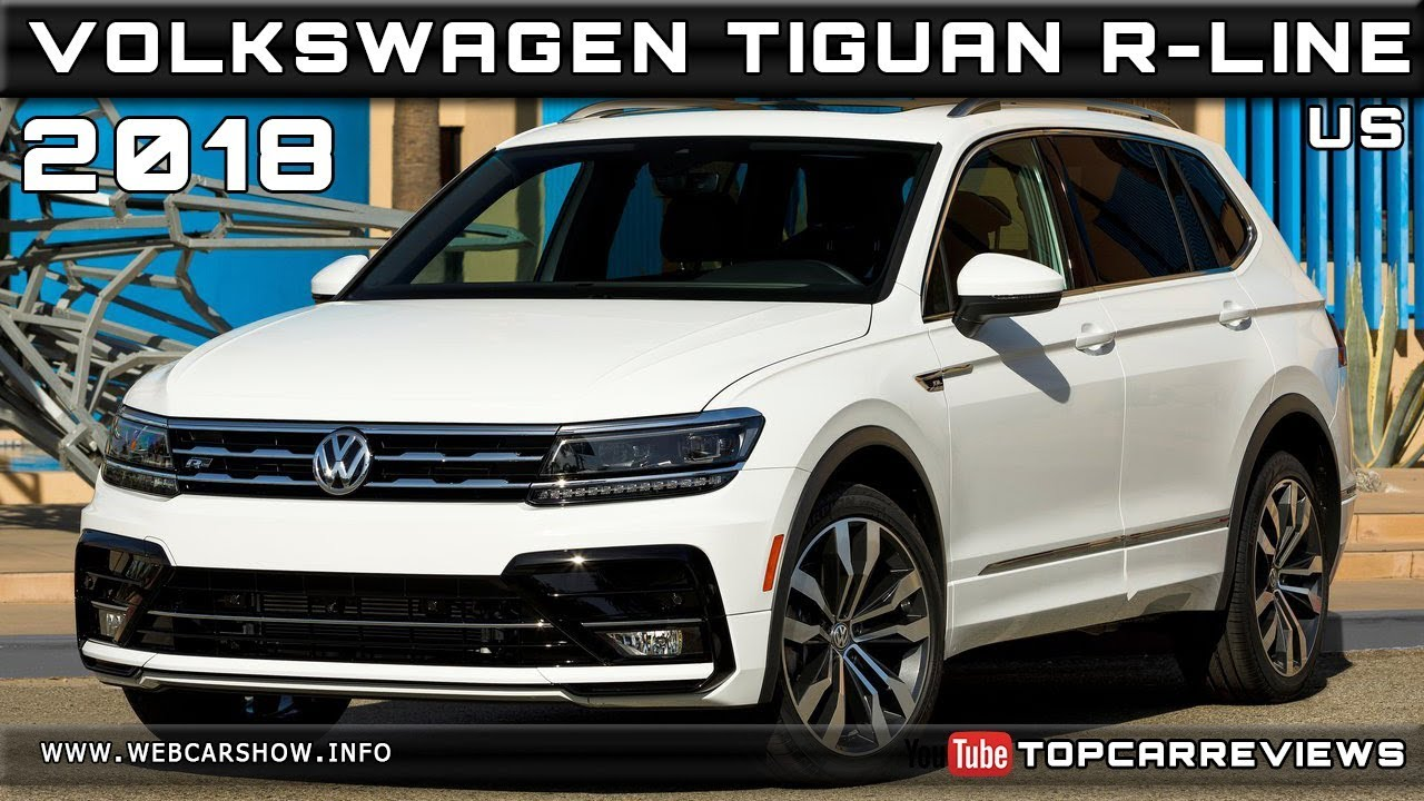 2018 volkswagen tiguan r line us review rendered price. Black Bedroom Furniture Sets. Home Design Ideas