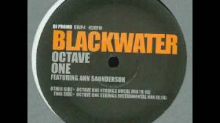 Octave One feat. Ann Saunderson - Blackwater