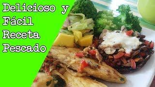 Deliciosa Receta de Pescado FÁCIL DE PREPARAR - Adicto Al Fitness