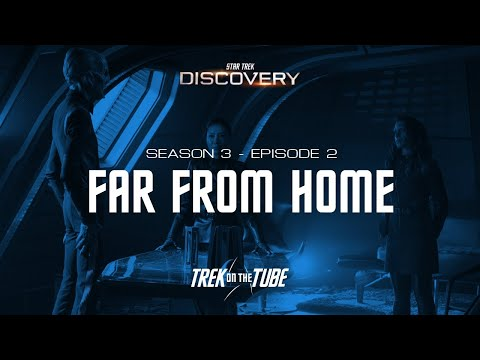 STAR TREK DISCOVERY - S03E02 Review, Easter Eggs And References