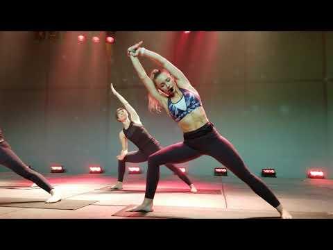 BODYFLOW l Yoga l Pilates l Core l Stretching l Goodlife l Canfitpro 2019