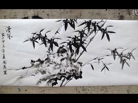 Chinese Ink Bamboo Paintings
