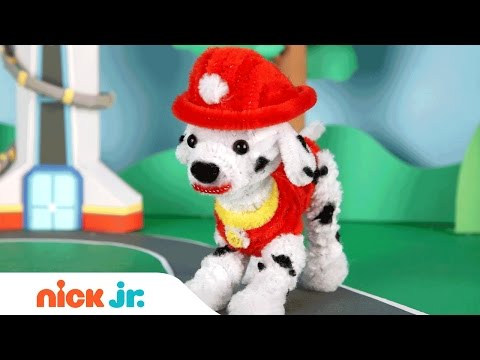 Pipe Cleaner Crafts w/ PAW Patrol's Marshall, Blaze and Shimmer & Shine | Nick Jr.