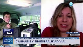 El consumo de cannabis y su incidencia en siniestros de tránsito