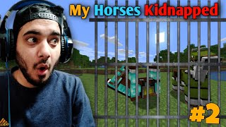 My Friends Kidnapped My Horse , So I Killed them   Minecraft Himlands [S-3 part 2]