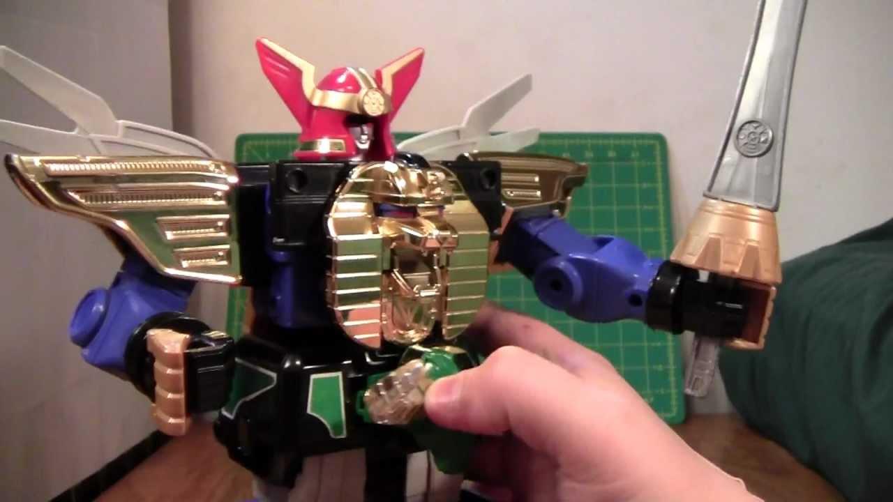 Power Rangers Zeo Megazord Review Youtube