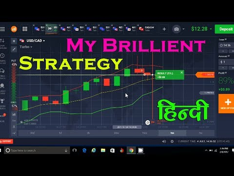Iq Option Live Trades Starting with Only $10 (Hindi) | New Binary Options Strategy 2017