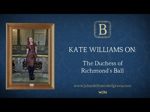 Julian Fellowes's BELGRAVIA Episode 1: Kate Williams on The Duchess of Richmond's ball