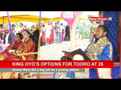 King Oyo's options for Tooro at 26