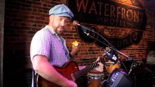 Folsom Prison Blues -Johnny Cash cover live at WaterFront Hotel Bar in Baltimore