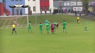 Sestřih utkání: FC Velké Meziříčí - MFK Vyškov 2:4 (0:0) - 7.10.2018 (10. kolo)