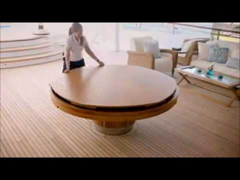 Charmant Expandable Round Dining Table