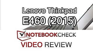 Lenovo Thinkpad E460 Review and performance tests
