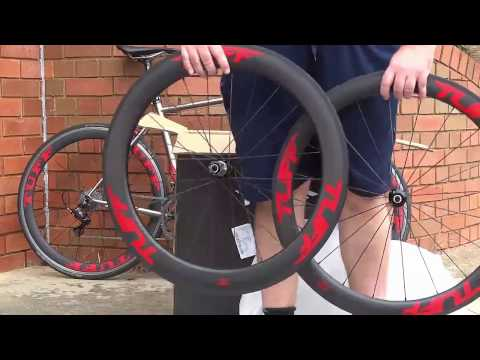 Carbon FIber Wheels unboxing - TUFF Elite 55/65
