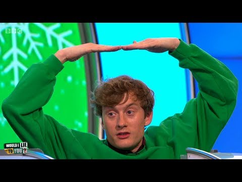 Did James Acaster try to drown himself because he didn't get the gift he wanted for X-mas? [HD][CC]