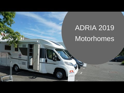 Adria Motorhomes 2019 - First Look