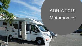 Adria Motorhomes 2019 - First Look