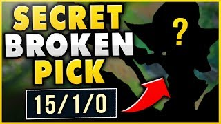 THEY STOLE MY TRYNDAMERE?!? MY *SECRET OP* POCKET PICK WILL CRUSH HIM! - League of Legends