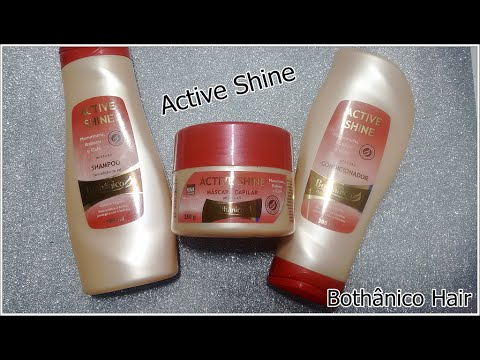 Linha Active Shine de café Bothânico Hair