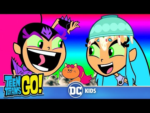 Top 10 Funniest Starfire Moments | Teen Titans Go! | DC Kids
