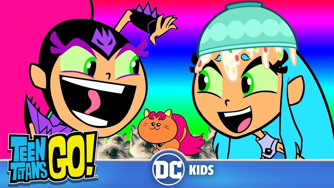 Teen Titans Go  Top 10 Funniest Starfire Moments  Dc -6704