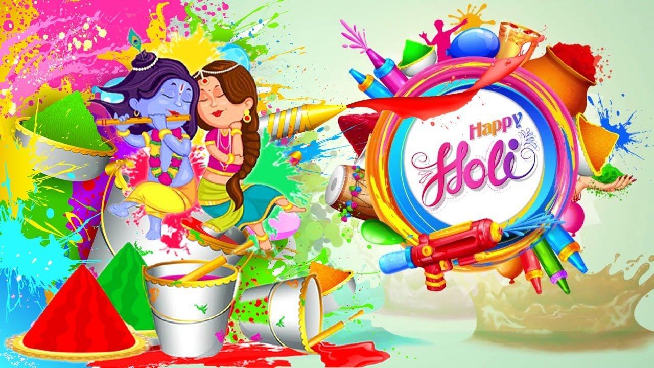 Happy holi wishes 2018 whatsapp video message holi greetings happy holi wishes 2018 whatsapp video message holi greetings ecard m4hsunfo