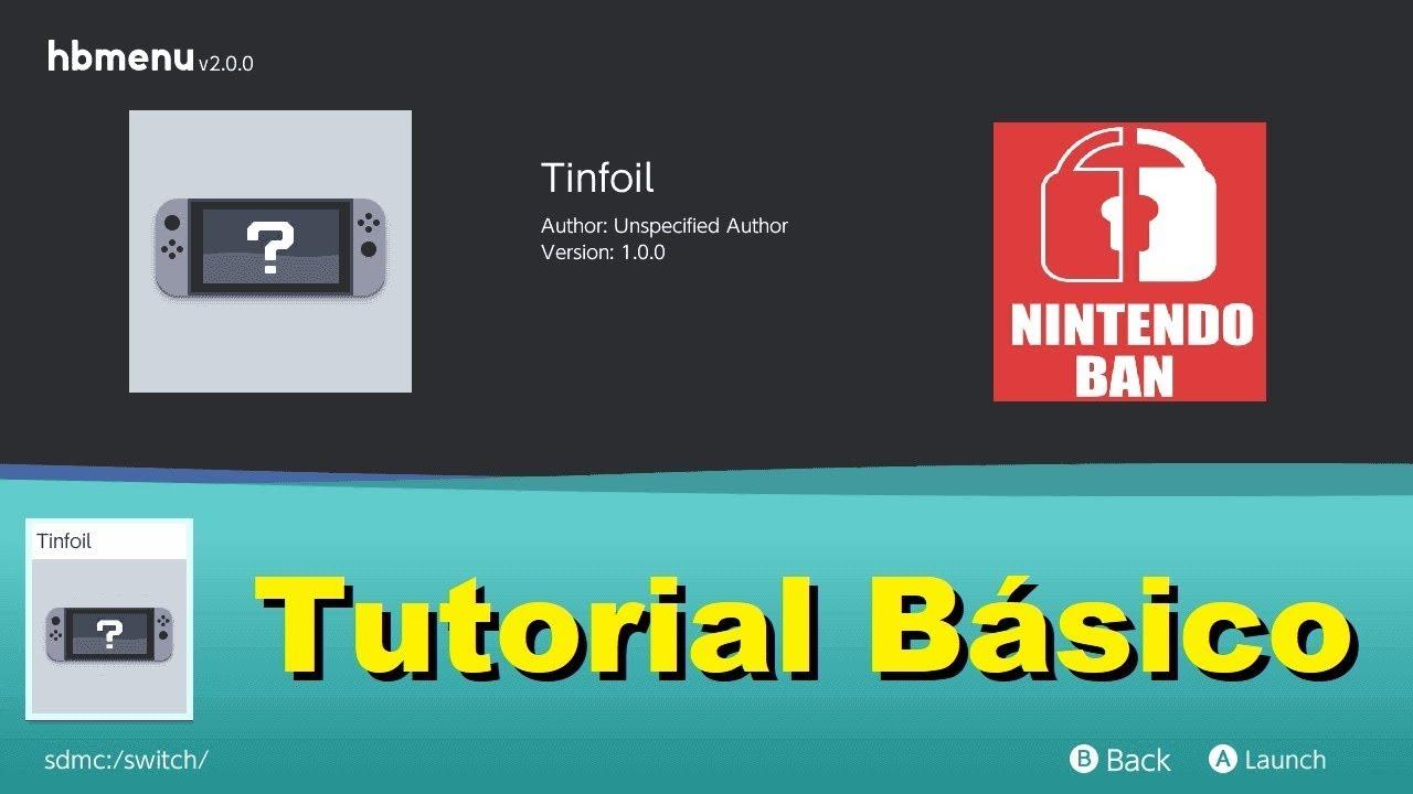 Tutorial de Instalação de Jogos NSP no Nintendo Switch Desbloqueado pelo  Tinfoil
