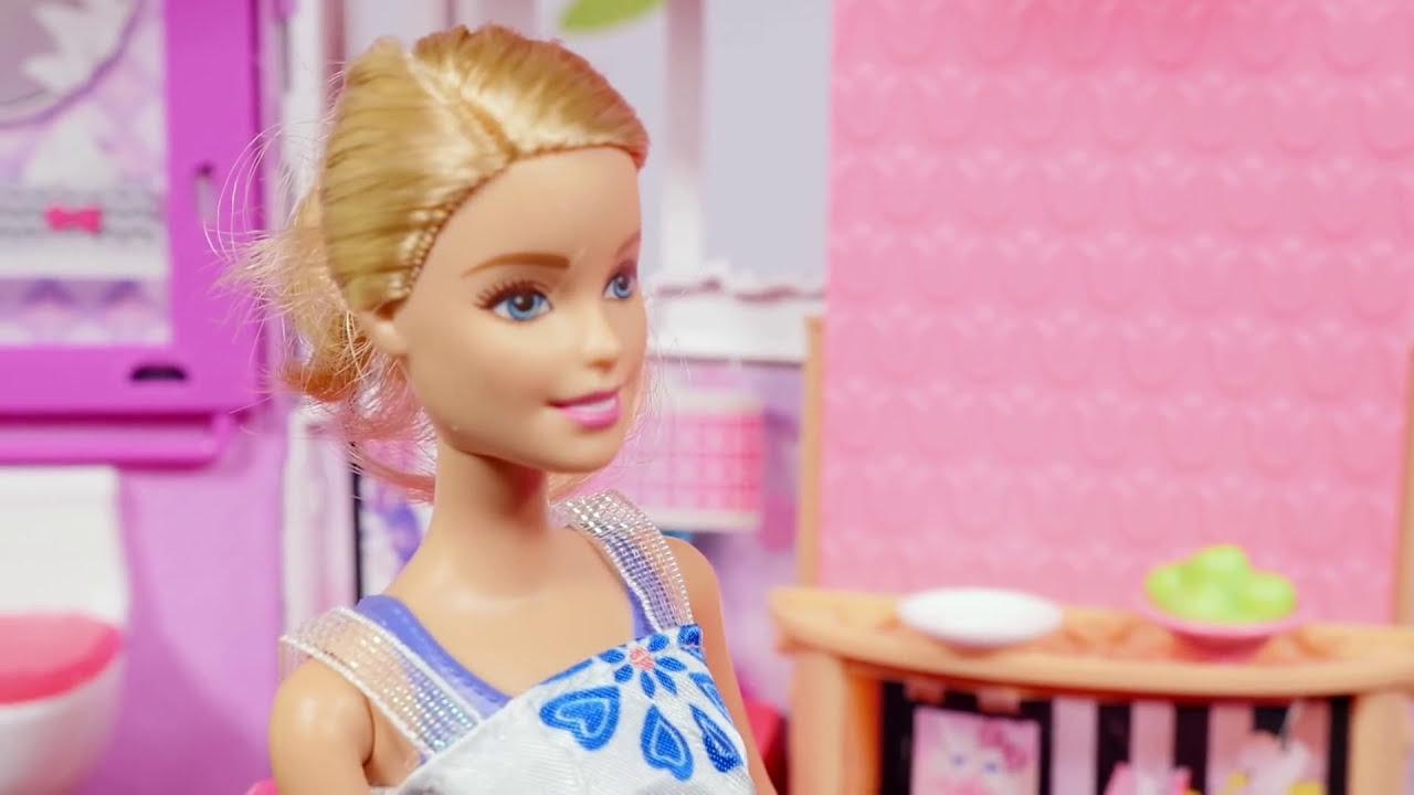 Barbie Videos Barbie Bath Tub Barbie Bathroom Barbie