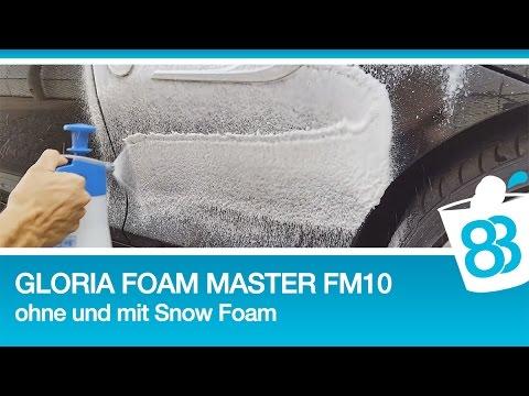 schaumspr her test gloria foam master fm 10 test ohne und. Black Bedroom Furniture Sets. Home Design Ideas