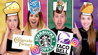 INSTAGRAM FILTERS CHOOSE OUR FOOD FOR 24 HOURS!!