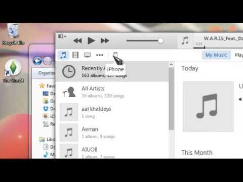 trasfer lagu dari komputer ke iphone