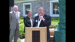 Mountainside, NJ Clock Dedication