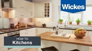 How to fit a kitchen sink with Wickes