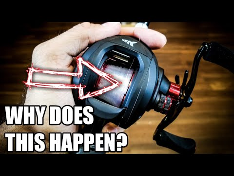 How To Fix Uneven Line Spooling A Baitcaster How To Spool A Baitcaster 2018 Youtube