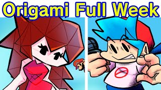 Friday Night Funkin' VS Paper Mario: The Origami King Full Week 13 (FNF Mod/Hard) (Chapter 1, 2, 3)