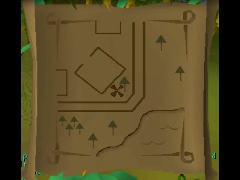 Runescape 2007 Clue Scroll Guides Map 13