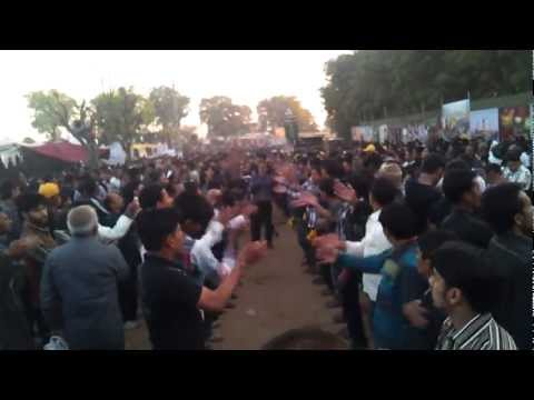Chalay Aawo-Matam in Juloos Day 2 of 4 federation event, Gujarat, India