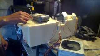 Опыт Пельтье автомобильный холодильник(, 2015-06-21T16:31:24.000Z)