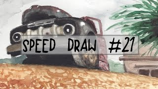 Speed Draw #21 | Namibia